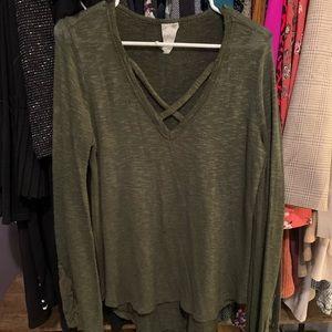 Lightweight Green Sweater